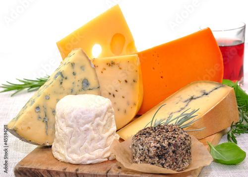 Käse, Rotwein