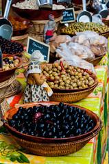 olives sur un marché provençal
