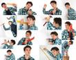 Handwerker Collage