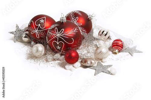 rote weihnachtsdekoration stockfotos und lizenzfreie. Black Bedroom Furniture Sets. Home Design Ideas