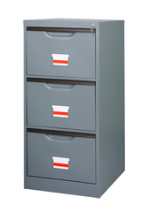 Closet or cabinet stainless steel furniture with big drawers to