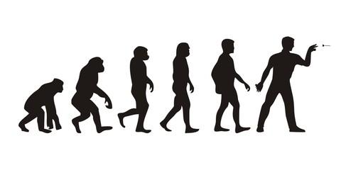 Vom Affen zum Darter (Menschen)