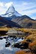 Matterhorn im Bergsee