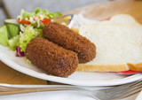Typical Dutch kroket