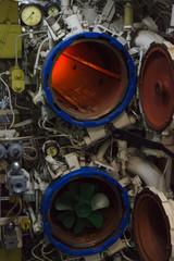 torpedo room and torpedoes