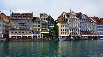 Das Ufer in Luzern