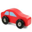 Rotes Holzauto