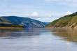 Taiga hills at Yukon River near Dawson City