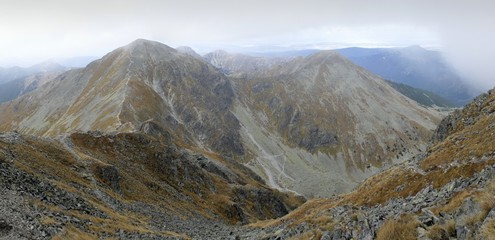 Pachola mountain in western part of Tatra mountains