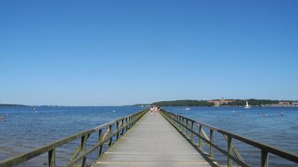 Seebrücke am Strandbad Flensburg