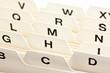 Karteikarten Register