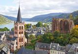 Fototapety Am Rhein - Bacharach - Weltkulturerbe