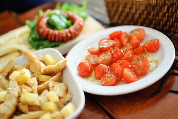 Appetizer tomato