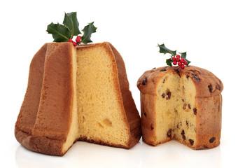 Panettone and Pandoro Cakes