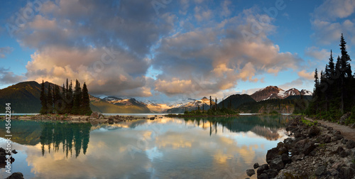 Garibaldi Lake Sunset