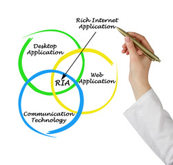 Diagram of rich internet application