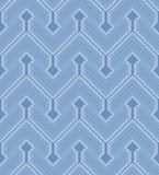 Zigzag seamless pattern poster