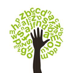 Tree the alphabet