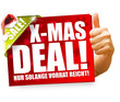 X-Mas Deal! Button, Icon