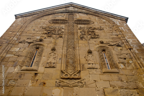 East facade of Church of the Assumption, Ananuri,  Georgia