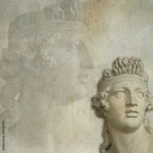 Antique statue background © acrogame
