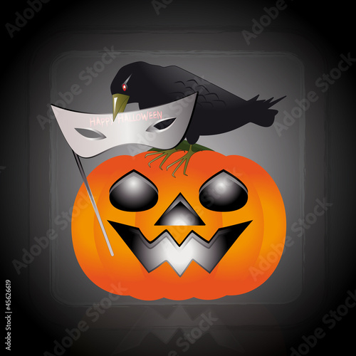 Mask of halloween