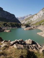 Lac des gloriettes, pyrénées