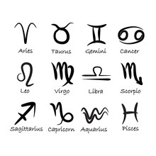 Znaki zodiaku wektorowe
