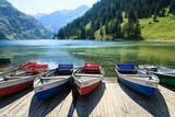Fototapety Ruderboote am See