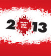 grunge happy new year 2013