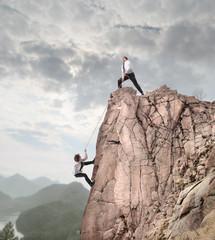 Climbing to the Success