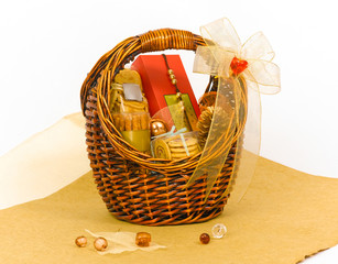 Beautiful cookie gift hamper basket