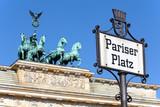 Pariser Platz, Brandeburg gate, Berlin