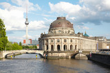 Fototapety Museum Island on Spree river, Berlin