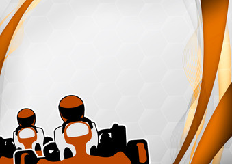 Gokart background