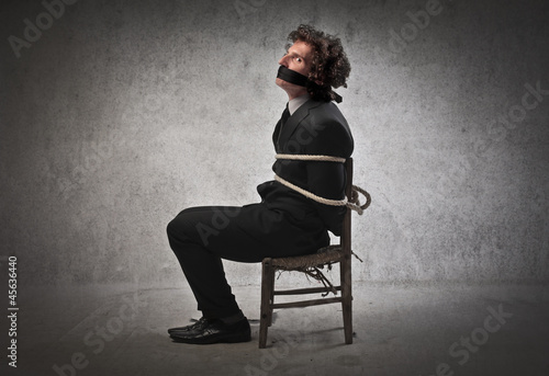 Bound Businessman