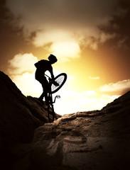 Extreme bike sport