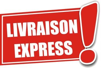 étiquette livraison express