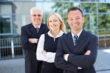 Frau im Business-Team