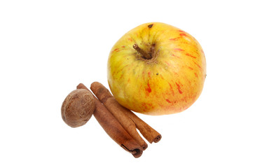 Apple cinnamon nutmeg