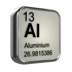 3d Periodic Table - 13 Aluminium