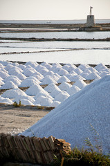 Marsala Saltworks, in Sicily.