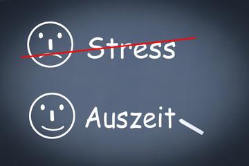 stress auszeit
