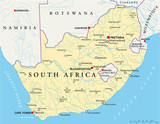 South Africa map (Südafrika Landkarte)
