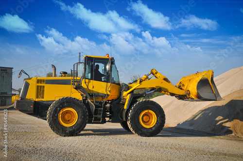 Keuken foto achterwand Beijing Loader excavator construction machinery equipment