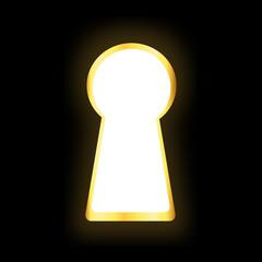 Gold Keyhole