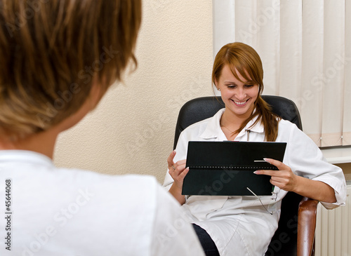 Male patient visiting his psychologist