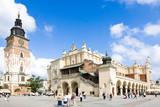 Stare miasto w Krakowie. Polska