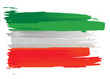 drapeau italien - made in italy