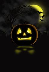 Halloween image for flyer or poster jpg